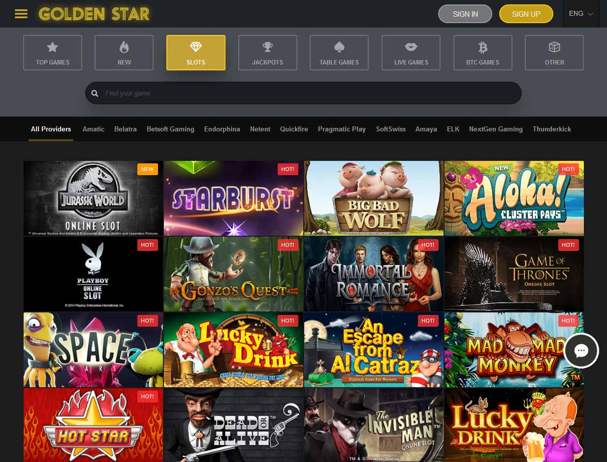 golden star casino bonus no deposit