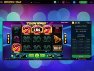 Golden Star Casino Screenshot #1